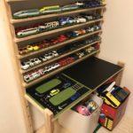 DIY初心者でも作れるトミカ収納棚